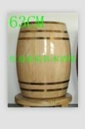 石家庄装饰木酒桶 1
