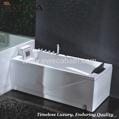 Massage Hot Bath Tub with LCD TV