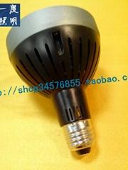 一度LED PAR灯35W内置散热风扇 另配外罩黑白可选