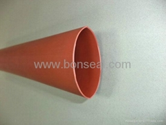 Medium/heavy wall halogen free bus bar insulation tubing