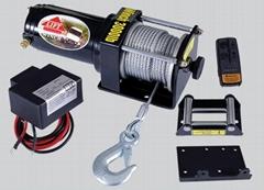 ATV绞盘 继电器绞盘 钢丝绳绞盘 无线遥控绞盘