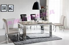 奥腾不锈钢家具T1699餐桌
