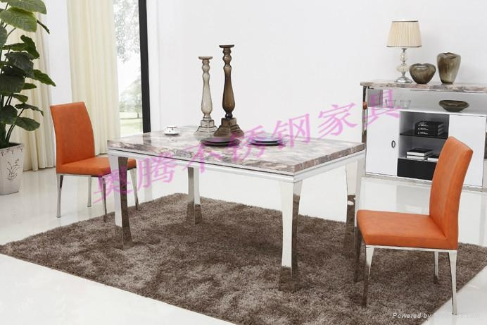 奧騰不鏽鋼傢具T1806餐桌 1