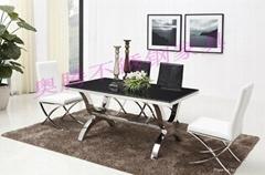 奥腾不锈钢家具T1812餐桌
