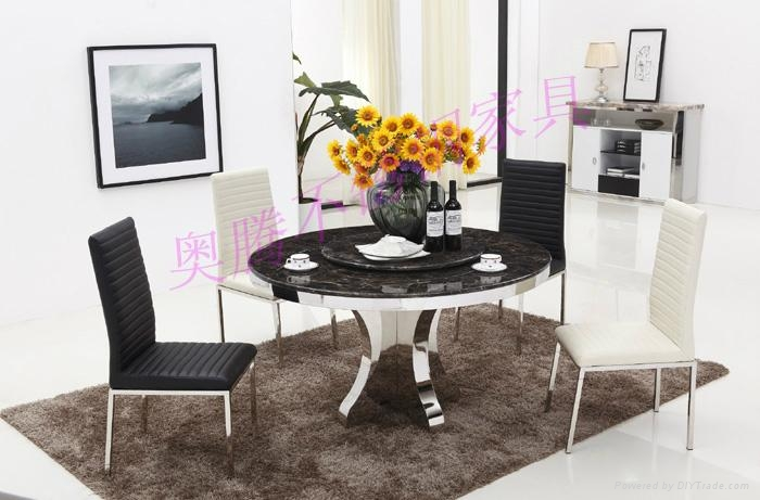 奧騰不鏽鋼傢具T1814餐桌 1