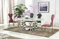 奧騰不鏽鋼傢具T1818餐桌