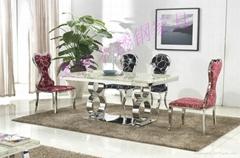 奥腾不锈钢家具T1818餐桌