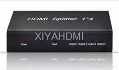 1 x 4 HDMI Splitter