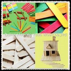 150MM wooden craft sticks  lolly sticks