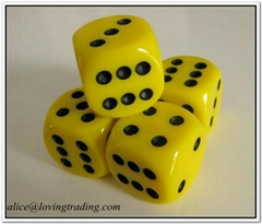Resin Games Dice,professsional factory make