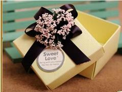 2013 fashion unique paper wedding candy box