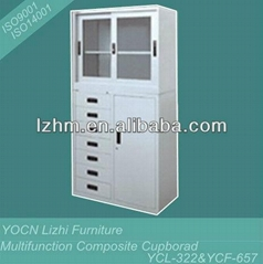 Hot Sale Steel Composite Display Storage Cupboard YCL-322 & YCF-657