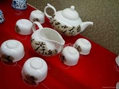 Bone China Drinkware Set