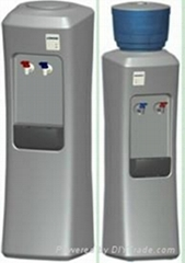 free-standing POU or bottled Hot and cold water dispenser