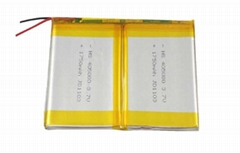 7.4v 1750mAh Rechargeable MP4 Li-polymer Battery pack for ipad Tablet