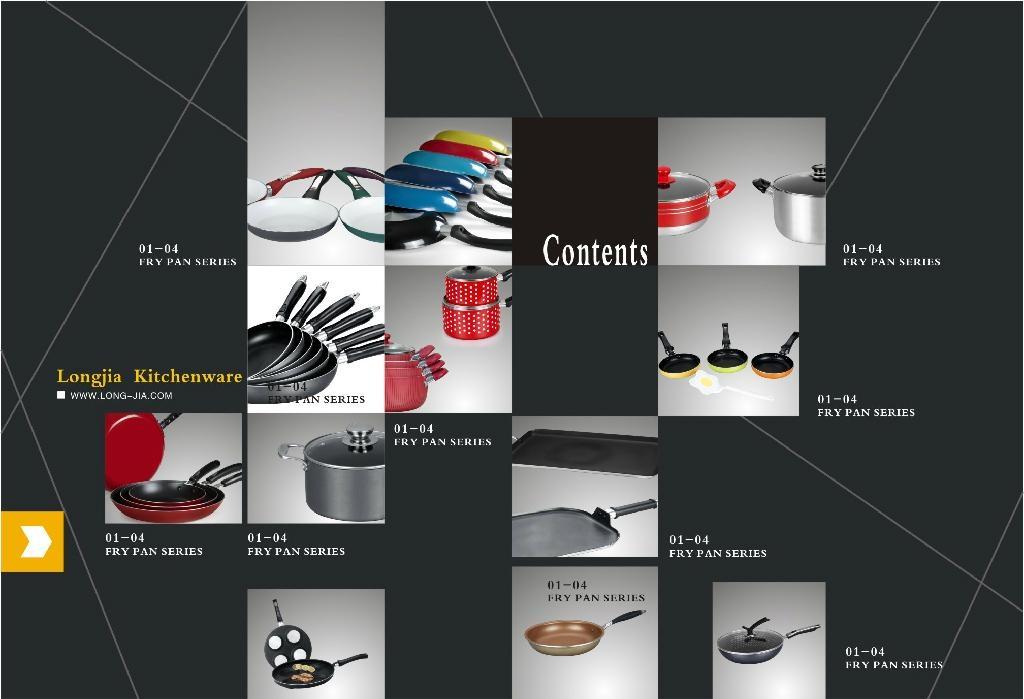 LJ  Non-stick Cookware Set-Hard-anodized- Factory 5