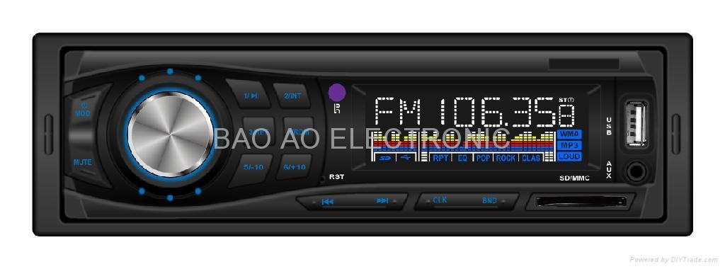 new model car mp3 with fm usb sd 2