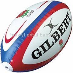 Cheap professional PVC inflatable beach ball rugby ball