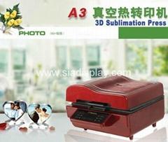 Multifunction 3d vacuum transfer machine