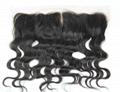brazilian virgin top closure hair pieces