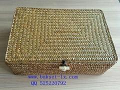 Straw gift box