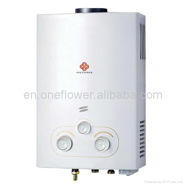 Gas water heater 2