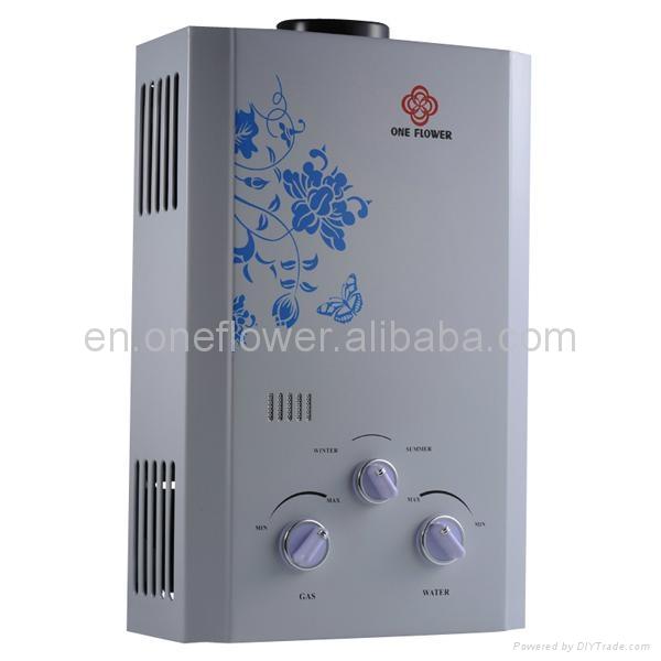 Gas water heater 4