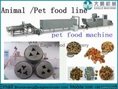 Dry pet dog food  processing machinery