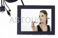15'' IP68 water-proof high brightness touch screen monitor