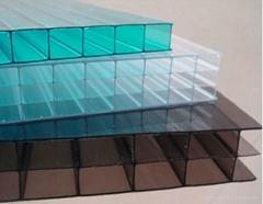 温阳光板雨棚