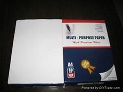 100% wood pulp A4 copy paper