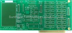 Double layer gold finger PCB board