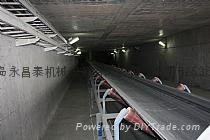 矿用下运带式输送机