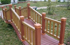 郑州木塑栏杆