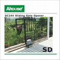 Ahouse Automatic Solar Sliding Gate Operator Motor 4