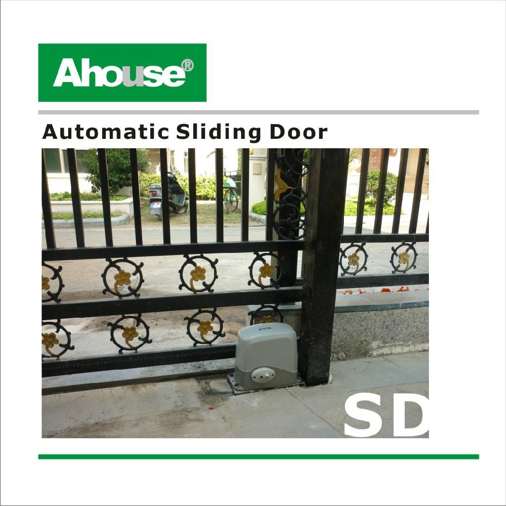 Ahouse Automatic Solar Sliding Gate Operator Motor Sd