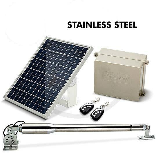 Ahouse solar system double swing gate opener em china