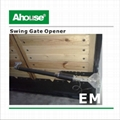 Ahouse Solar System Double Swing Gate Opener 5