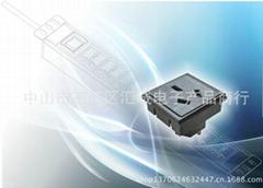 國標三扁 PDU 1U模塊組件