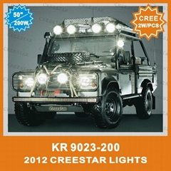 "Double Row 50"" 200W CREE Led Light Bar"