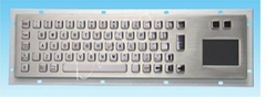 metal keyboard with touchpad size 392*110(mm)