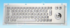 High stainless steel of keyboard with trackball size 330*100(mm)