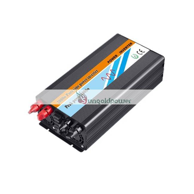 2000W DC to AC Pure Sine Wave Power Inverter 1