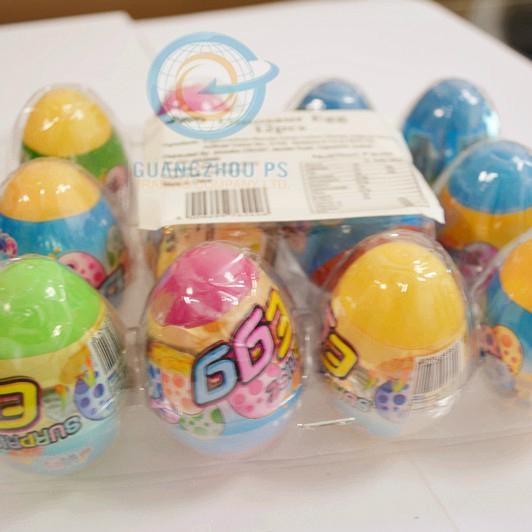 Dinosaur Toy Egg(1g popping candy +1 toy+2tattoos) 1