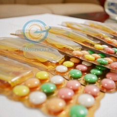 Tablet Candy With Glasses