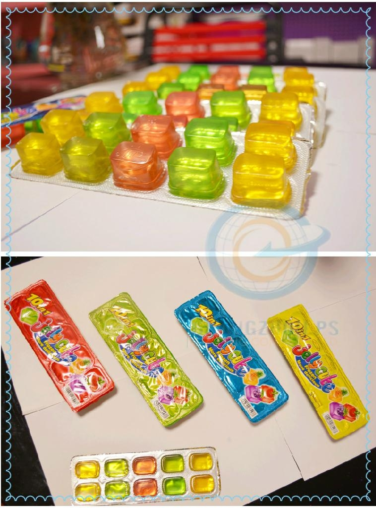 10pcs fruit jelly cup 2