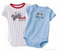 high quality cotton baby romper