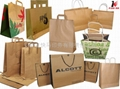 2013 popular kraft paper bag with printing 3