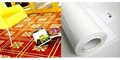 Floor graphic film (clear self adhesive