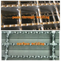 锯齿型防滑钢格板